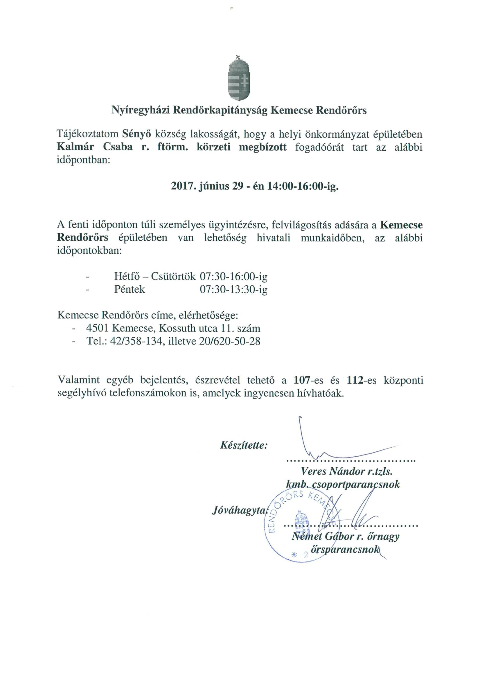 Tájékoztatás 0629-1